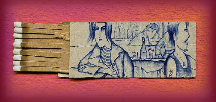 Sketch on a Matchbook - Matchbook House