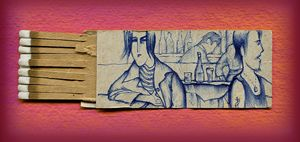 Sketch on a Matchbook