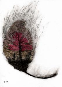 Burning leaf of Ellcrys