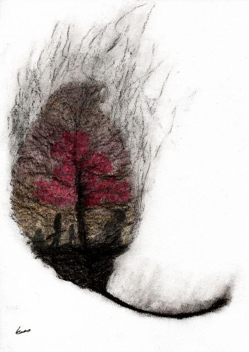Burning leaf of Ellcrys - NOC_Drawings