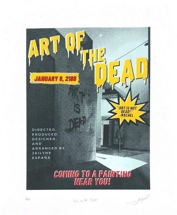 Art of the Dead - Jailyne Art