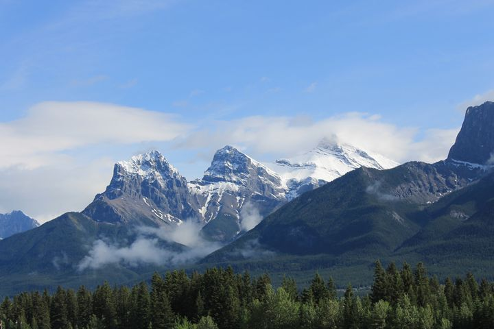 The Mountains of Canmore - Clarissa Clark