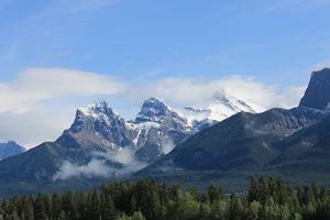 The Mountains of Canmore