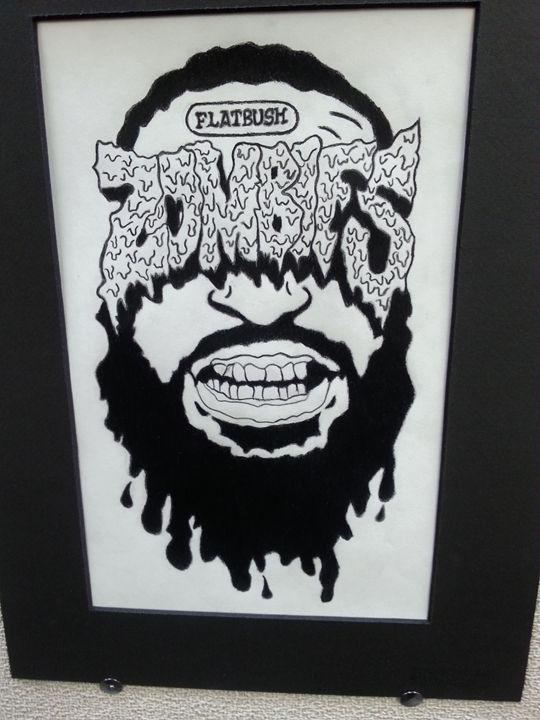 flatbush zombies fan art nicks art drawings illustration