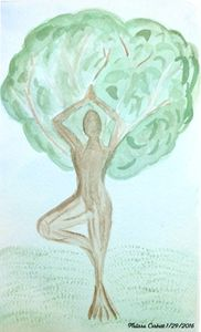 Dryad in Tree Pose