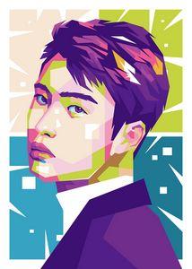 EXO DO POP ART ILLUSTRATION