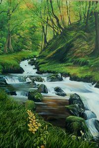 Glenveagh Waterfall