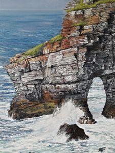 Marble Arch, Horn Head, (Dunfanaghy)