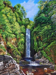 Glenevin Waterfall,Clonmany,Donegal