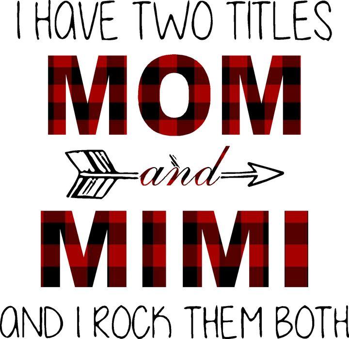 MOM and MIMI - TnJ Art & Vinyl Boutique