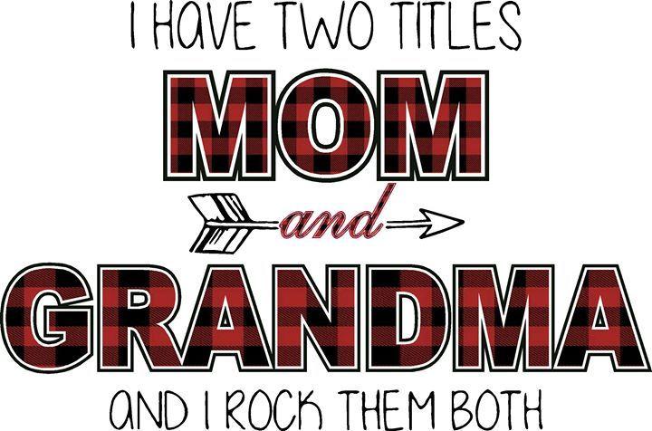 Mom & Grandma Adhesive Vinyl Or HTV - TnJ Art & Vinyl Boutique