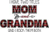 Mom & Grandma Adhesive Vinyl