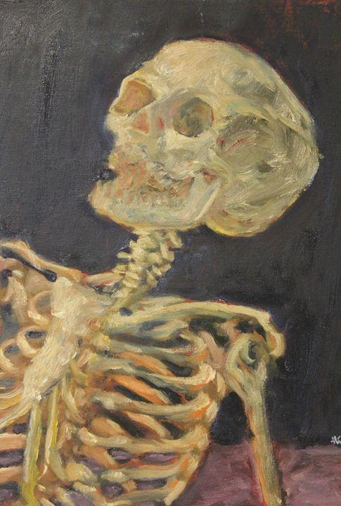 The Laughing Skeleton - XArreola