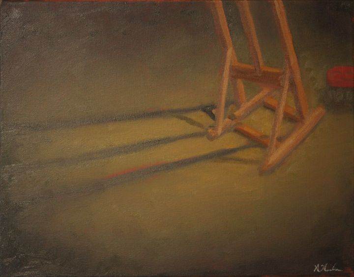 The Lonely Easel - XArreola