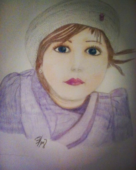 Little girl Blue - Pamela Kay