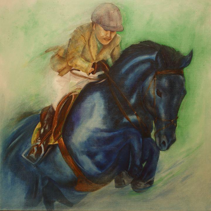 Blue Velvet - enamourArte