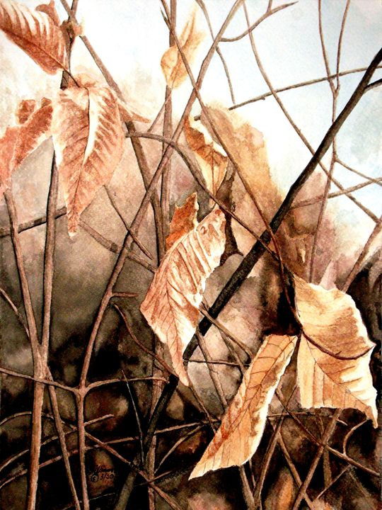 Dancing Leaves - Will Clark Art