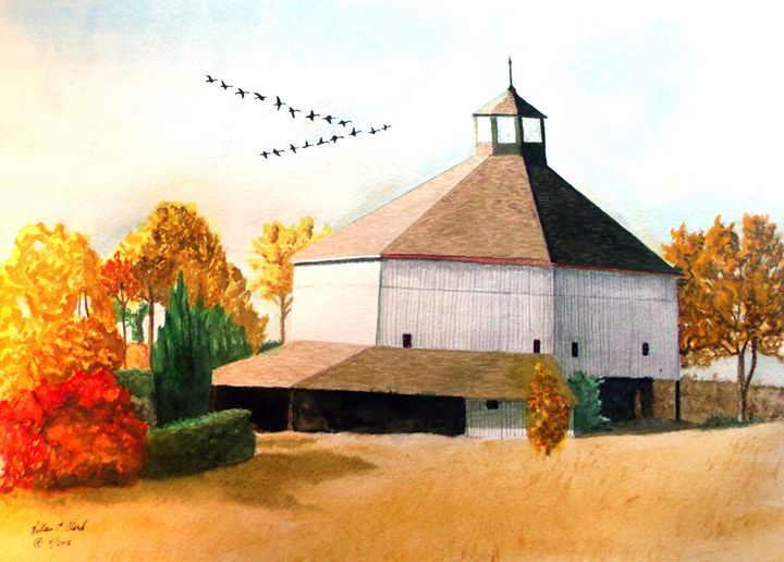 """Linvilla Barn"" - Will Clark Art"