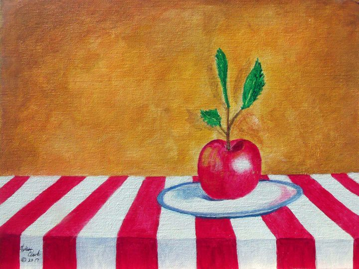 Red White and Blue - Will Clark Art