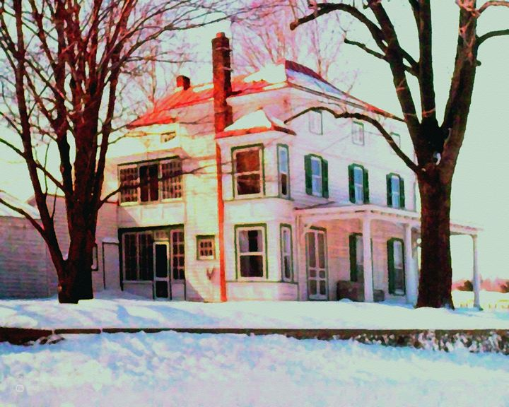 Winter Glow - Will Clark Art