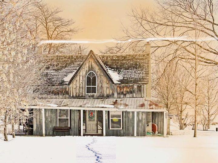 Home Fires Burning - Will Clark Art