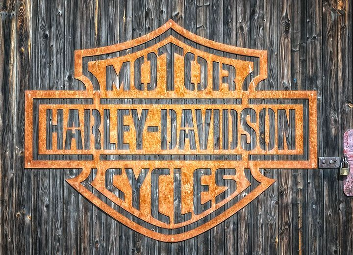 HARLEY DAVIDSON MOTOR CYCLES - Will Clark Art