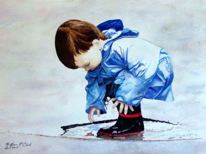 """""""Blue Boy"""" - Will Clark Art"""