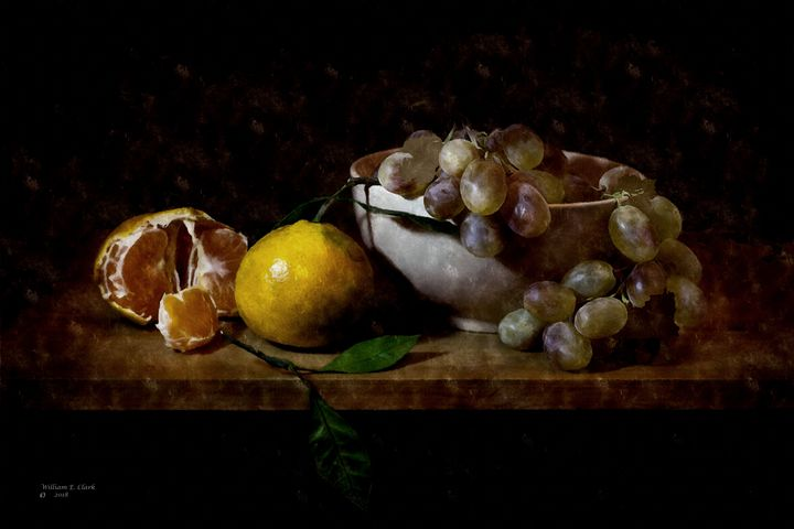 ORANGES AND GRAPES - Will Clark Art