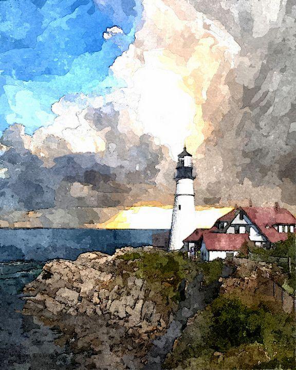 THE LIGHTHOUSE - Will Clark Art