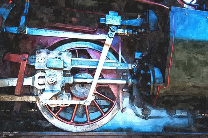 Iron horse #4 - Will Clark Art