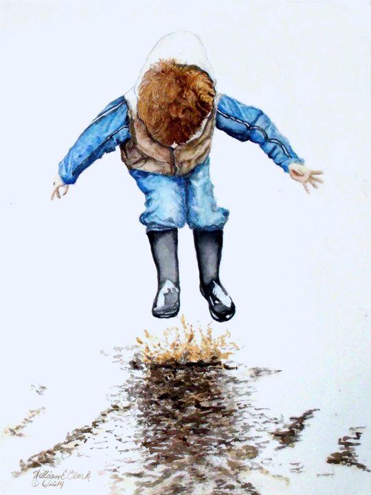 """Splash"" - Will Clark Art"