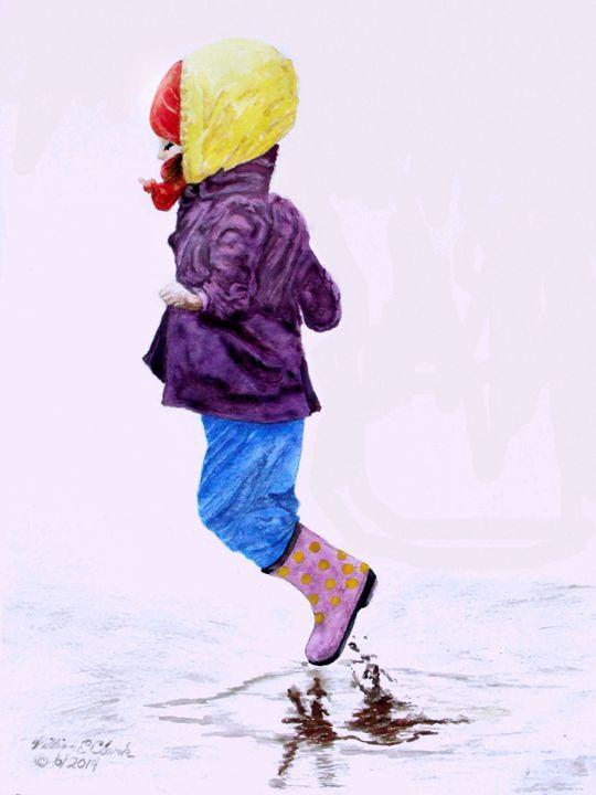 """Jump"" - Will Clark Art"