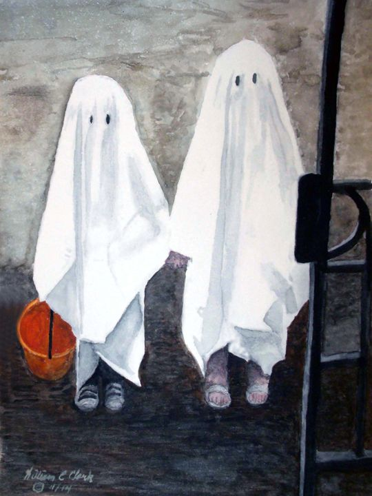 """Reluctant Ghosts"" - Will Clark Art"