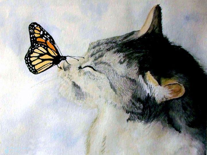 Butterfly Kiss - Will Clark Art
