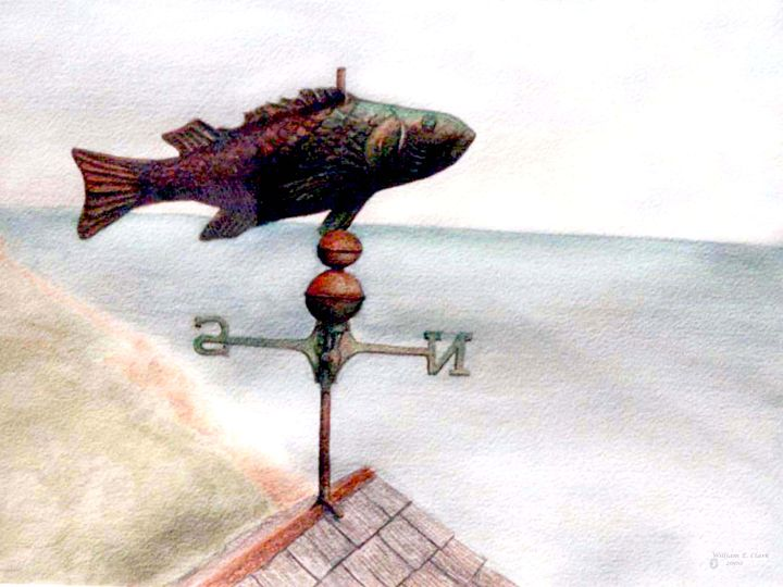 """Weathervane"" - Will Clark Art"