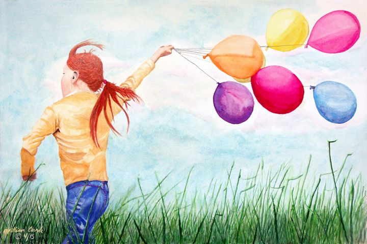 """ Windy Days"" - Will Clark Art"