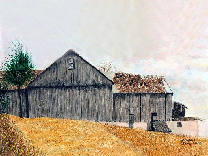 Wind Swept - Will Clark Art
