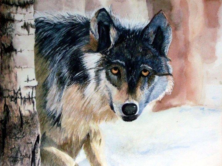 Wolf - Will Clark Art