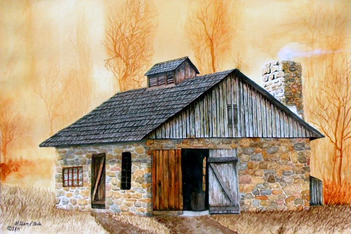 """Smitty at Newlin"" - Will Clark Art"