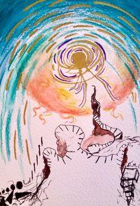 Icarus Stairs - Dak Art