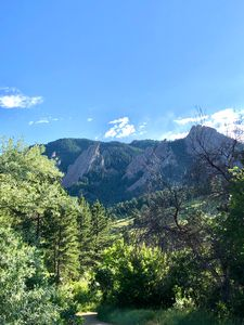 The Flatirons (color)