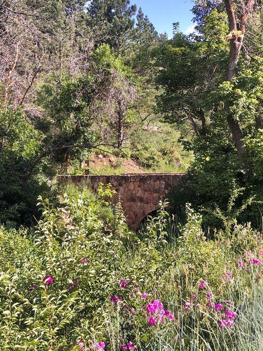 Bridge at Chautauqua Park - Dak Art