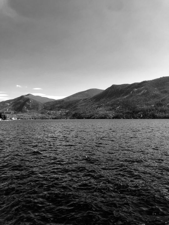 Grand Lake, CO (B&W) - Dak Art