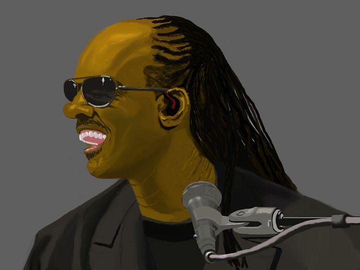 Stevie Wonder singing - Jerome Ekuban