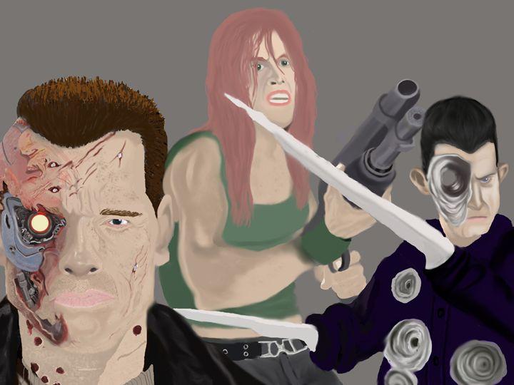 The Terminator poster artwork - Jerome Ekuban