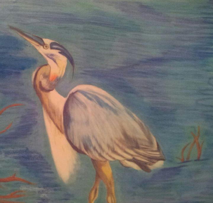 Heron - Crofford Art
