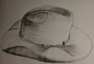 Lone hat...