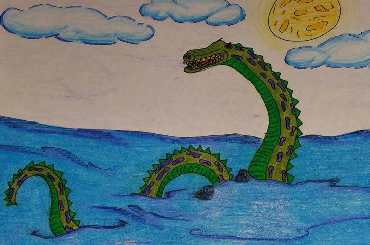 Water Serpent - Crofford Art