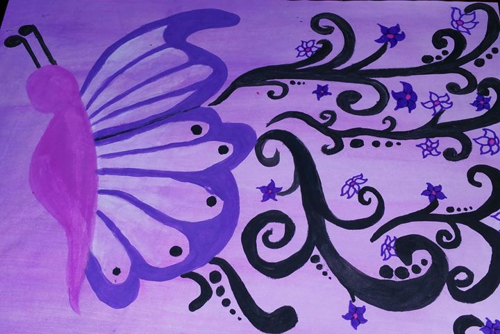 Butterfly Breeze - Crofford Art