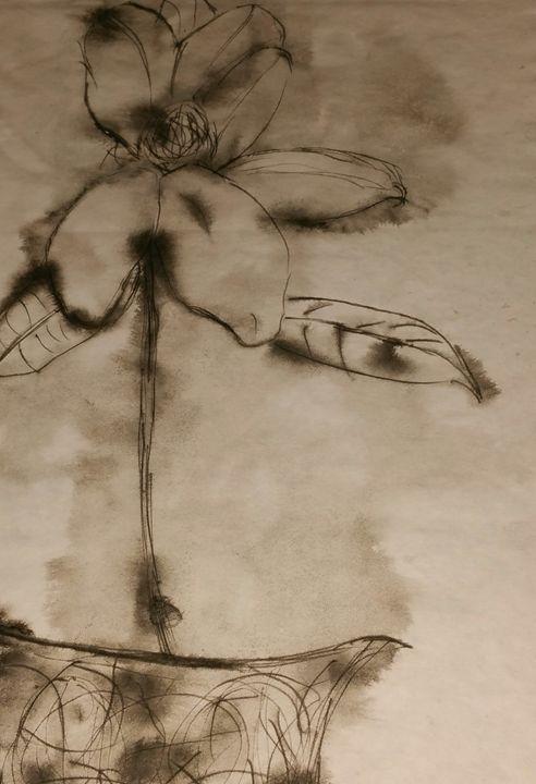 Inky Blooms - Crofford Art